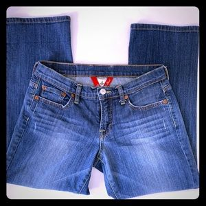 Lucky Brand Women's Cropped Easy Rider Jeans sz 4